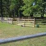 Locust Split Rail Fence