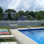 Vinyl Fence Surround Pool