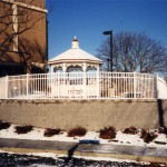 Ornamental Fence Surrounding Gazebo