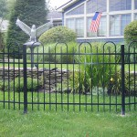 Ornamental Fence Surrounding Yard