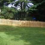 4' Yorktown Picket Fence