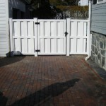 Gate for Vinyl Fence