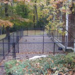 Chain Link Fence Pet Enclosure