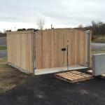 Prince Dumpster Enclosure