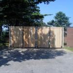 Dumpster Enclosure Princeton
