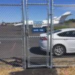 Chainlink Fence Airport Installed Burns Fencing