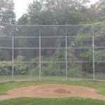 Burns Fencing Installed Chainlink Fence Baseball Field