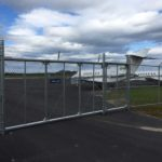 Burns' Chainlink Fence Jetport