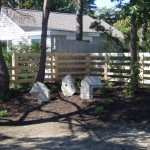 Custom Board Rail Fence