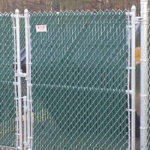 Chainlink Dumpster Enclosure Burns' Fencing