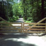 Automated Cedar Gate