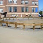 Wooden Guard Rail School