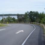 Wood Guard Rail Road