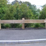 Wood Guard Rail