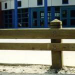 Double Rail Wooden Guard Rail