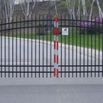 Burns' Installed Automated Gate Fence