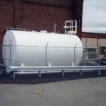 Steel Guard Rail Protecting Tank