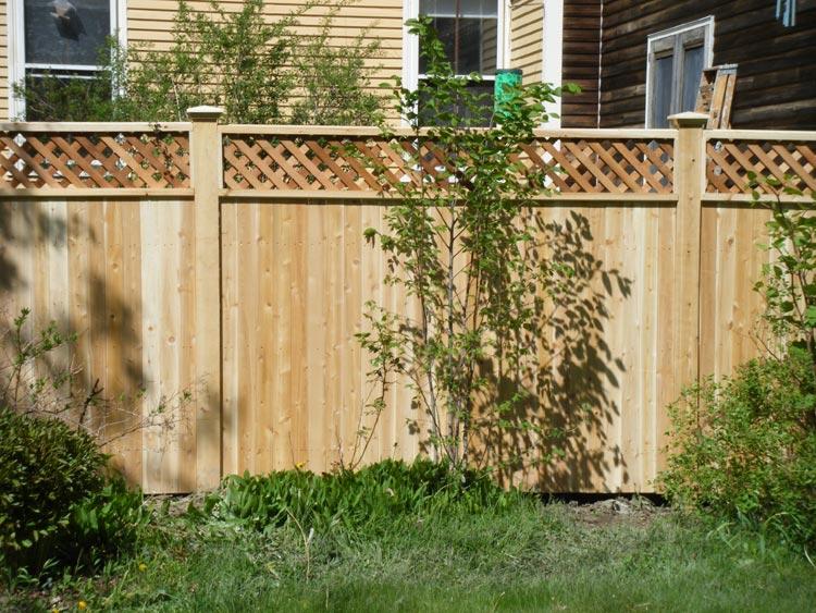 Decorative wood fencing maine - Decorative wooden fences ...