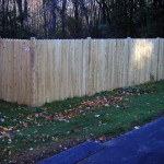 Stockade Privacy Fence