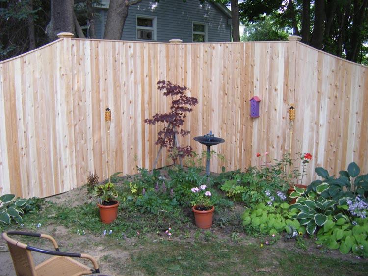 Decorative Wood Fencing Maine