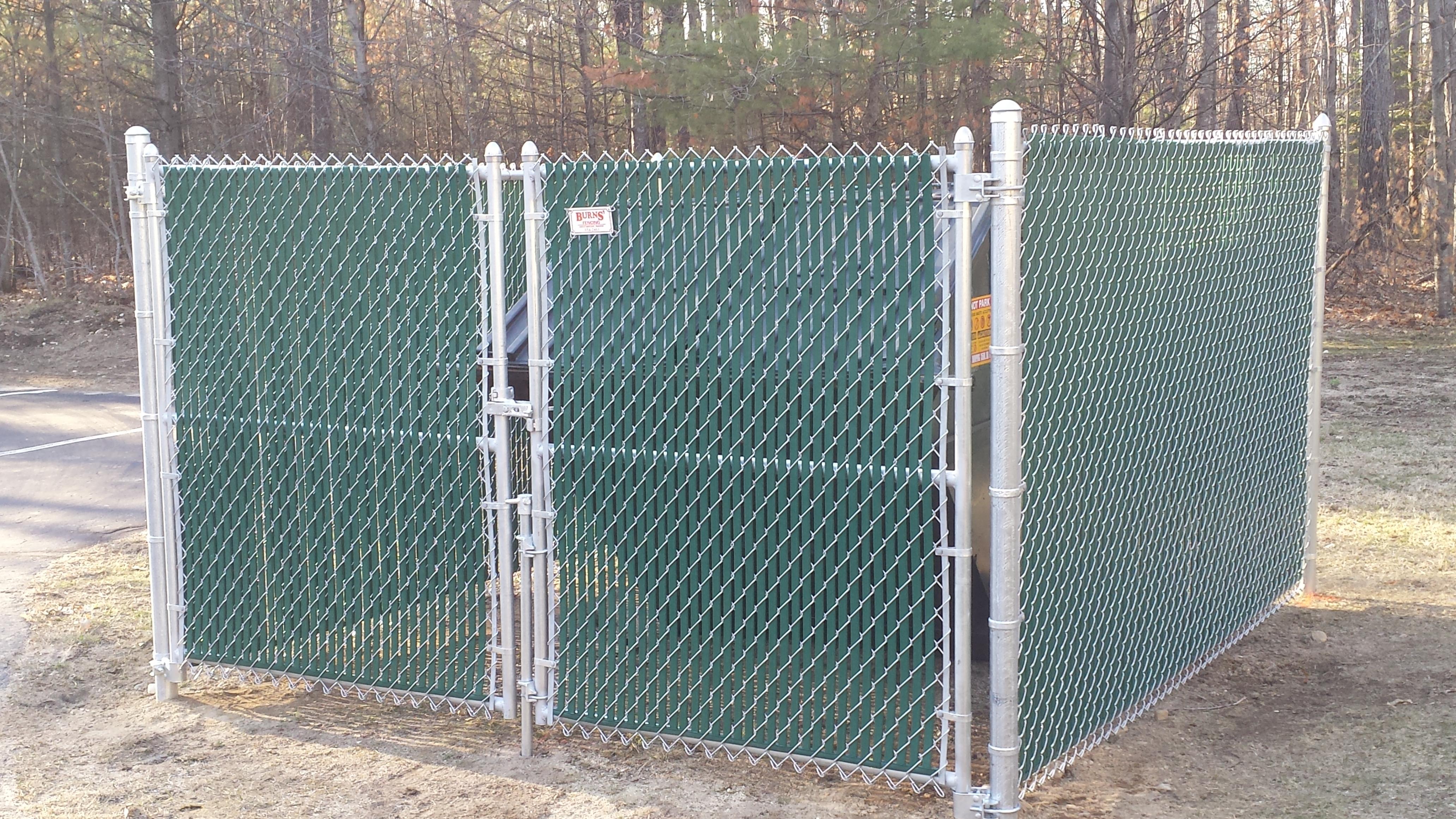 Dumpster Enclosures Maine
